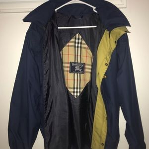 Authentic Vintage Burberry's from London Jacket